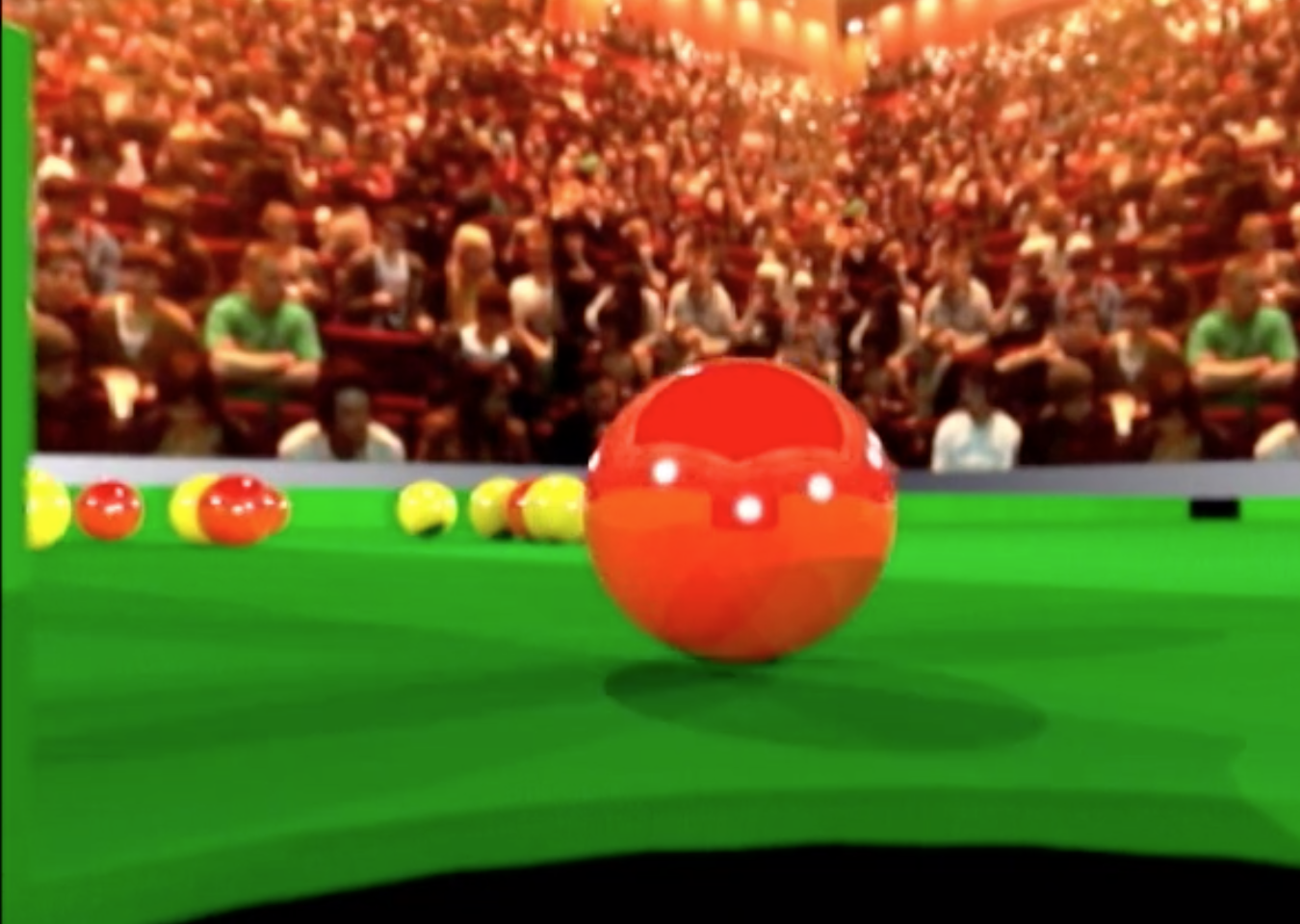 Pool Table 3D Animation