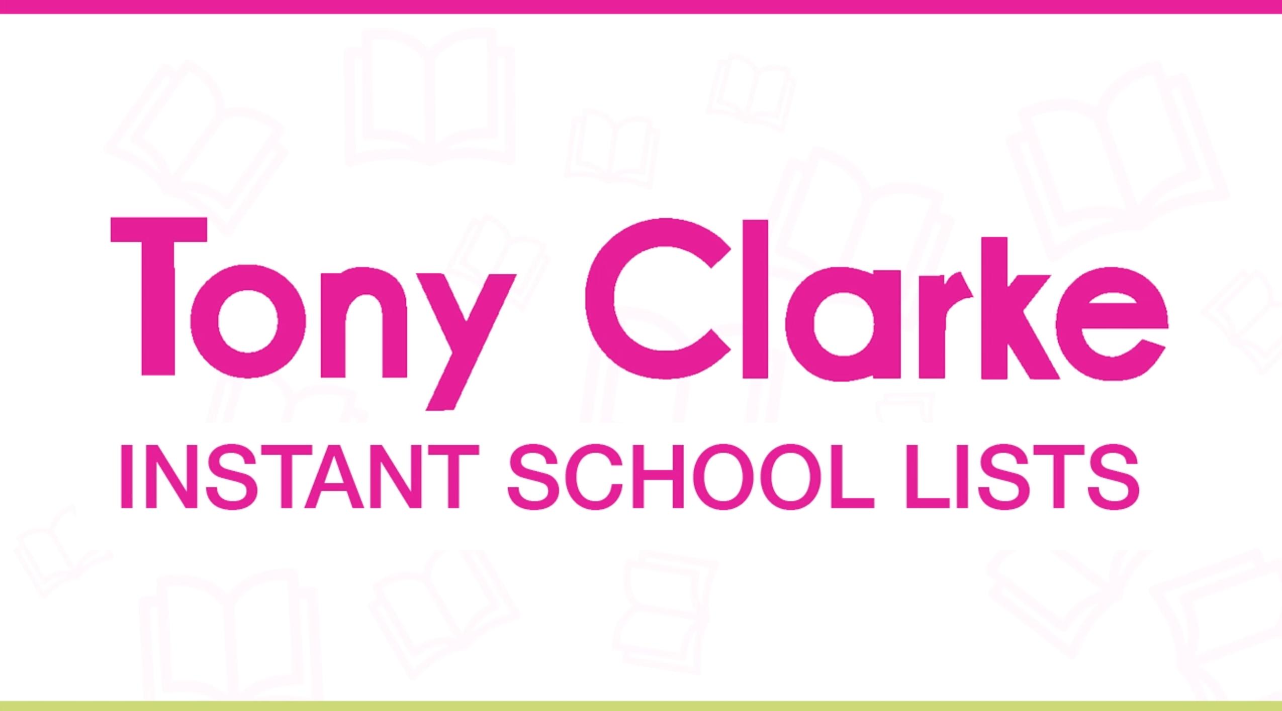 Instant School Lists