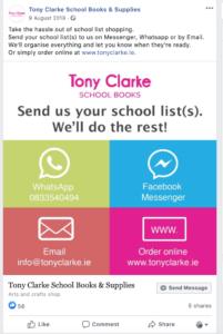 Tony Clarke School Book ordering